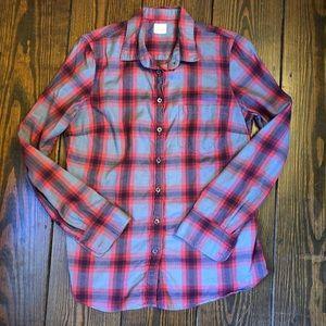 J.Crew Women's Flannel Shirt, Size S
